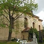 Zápy - kostel
