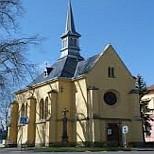 Lázně Toušeň - kostel